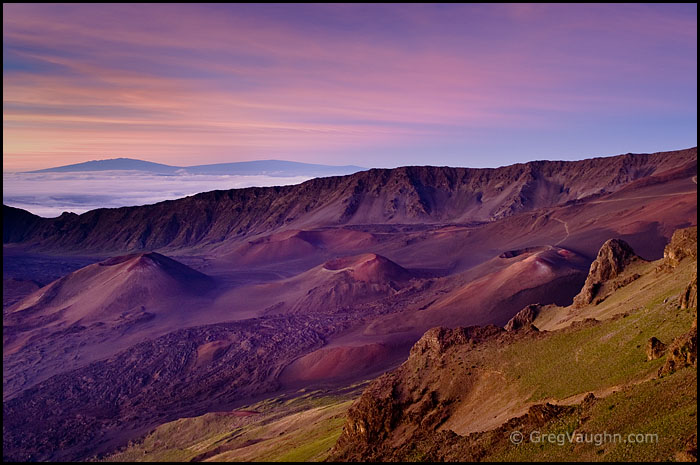 Haleakala Crater at dawn