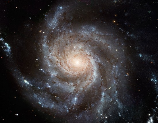 photo of Spiral M10 Galaxy by Hubble Telescope, from NASA.
