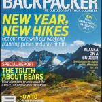 Backpacker Magazine cover - Sahale Arm Trail