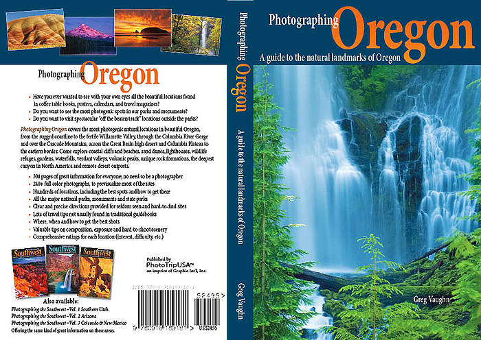 Photographing Oregon book cover