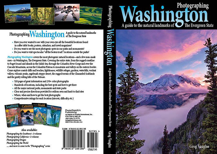 Photographing Washington book cover